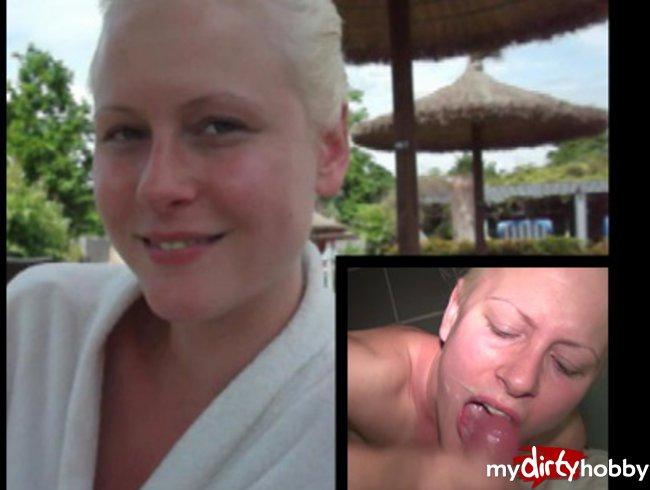 Im Schwimmbad in den Mund gespritzt !!!
