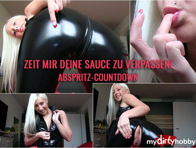 Zeit mir Deine Sauce zu verpassen! Abspritz-Countdown