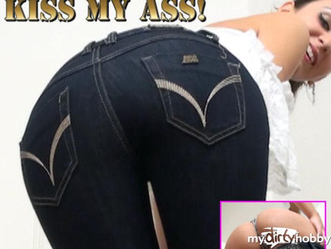 Für Devote! Kiss my Ass