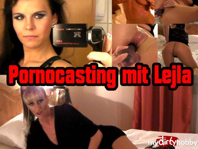 EXKLUSIV: Pornocasting mit Lejla