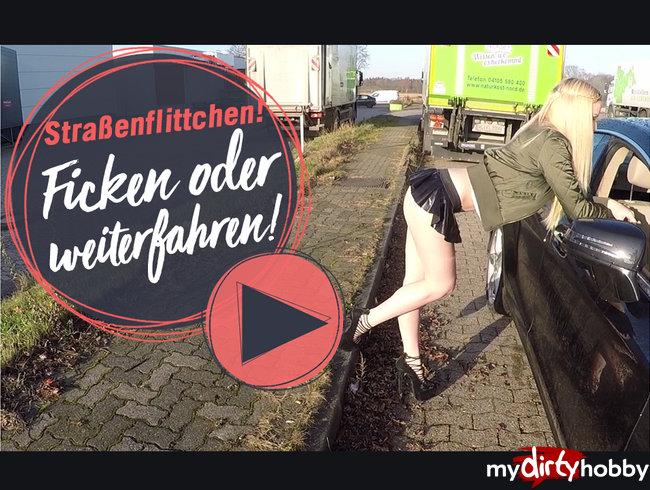 STRAßENFLITCHEN! Ficken oder weiterfahren!    | LUCY CAT