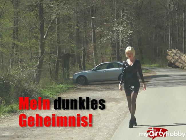 Mein dunkles Geheimnis! 3-Loch-Hure auf der Straße!!!