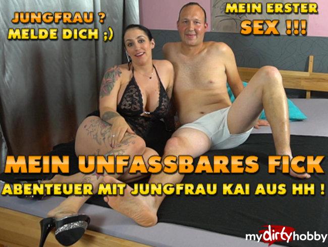 Mein unfassbares Fick-Abenteuer mit Jungfrau Kai aus HH !