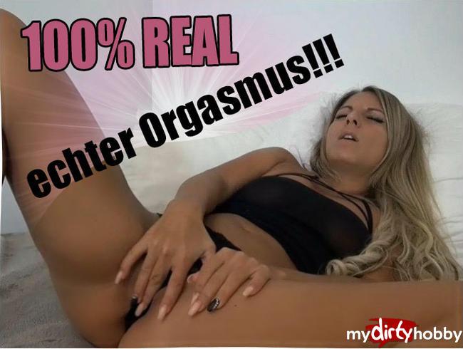 100% REAL - echter Orgasmus!!!