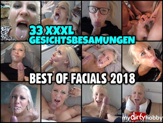 BEST OF FACIALS 2018 | 33 XXXL GESICHTSBESAMUNGEN