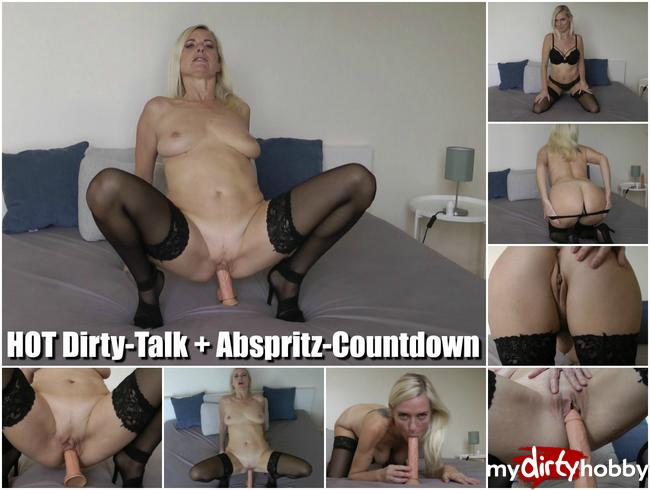 HOT Dirty-Talk mit Abspritz-Countdown