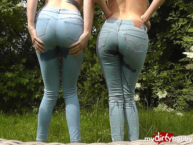 Doppel Jeans Piss