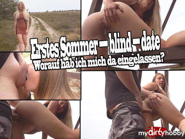 Ertes Sommer-Blind-Date!