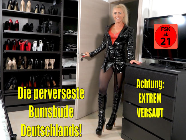 Die perverseste Bumsbude Deutschlands | Hardcore 3Loch Fick Sperma Doppelpiss Spektakel!