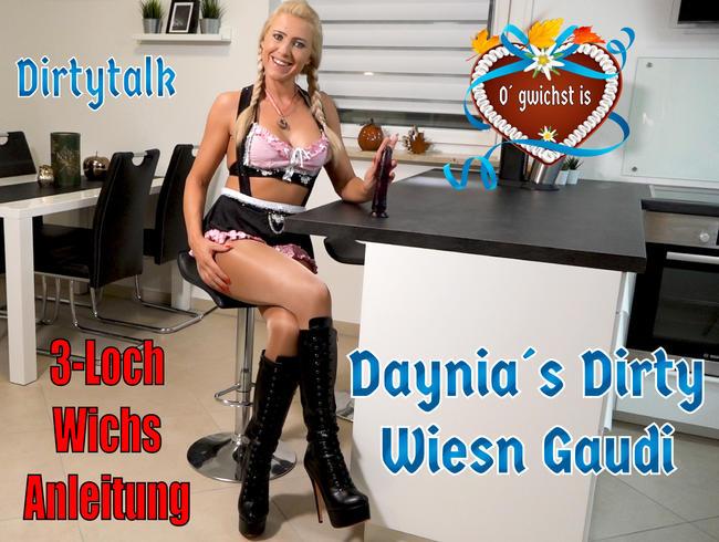 O´gwichst is | Die Dirtytalk 3-Loch Wichsanleitung mit Deiner Dirndl-Schlampe!
