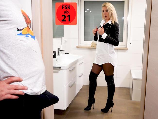 Perverse Morgenlatten Hardcoreeskalation | Nach Ultra DoublePissFick gehts NASS ins Büro...