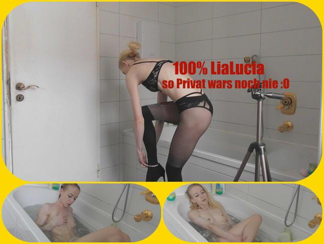100% LiaLucia - SO Privat wars noch NIE!!
