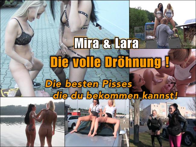 Die volle Dröhnung - die besten Pisses Ever! Mira & Lara !