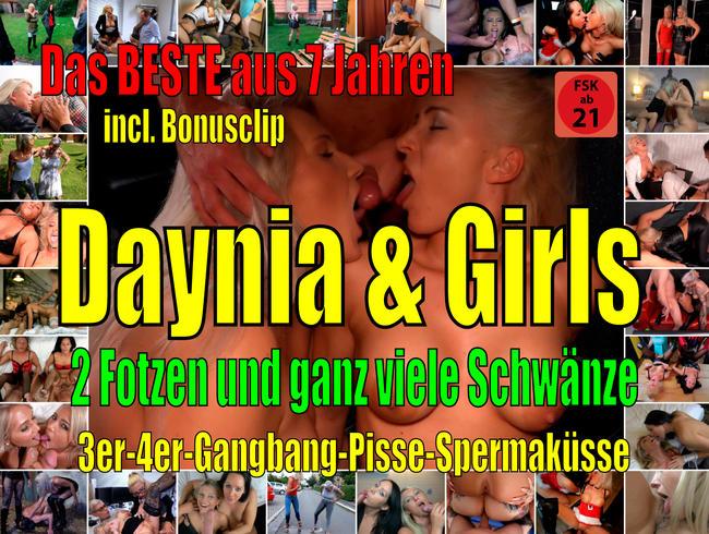Das SCHLAMPENSPEZIAL! Daynia + Girls | Viele Fotzen + noch mehr Schwänze! Best of! incl. Bonusclip