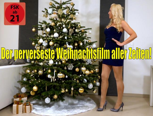 Der perverseste Weihnachtsfilm aller Zeiten   Christmas Hardcore Fuck 2020 - XXL OneManBUKKAKE