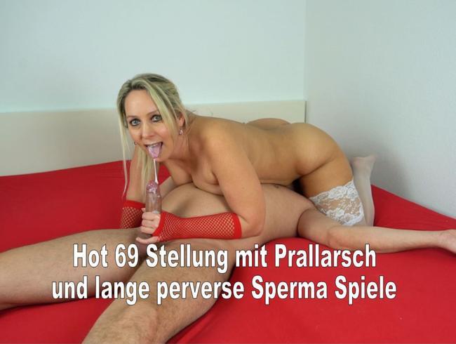 Hot 69 | Sperma aus Fickmund geplatzt