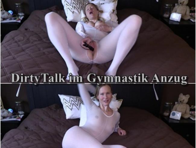 DirtyTalk im Gymnastik Anzug