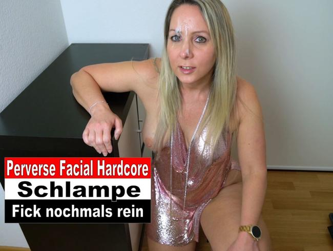 Perverse Facial Hardcore Party Schlampe Teil 2