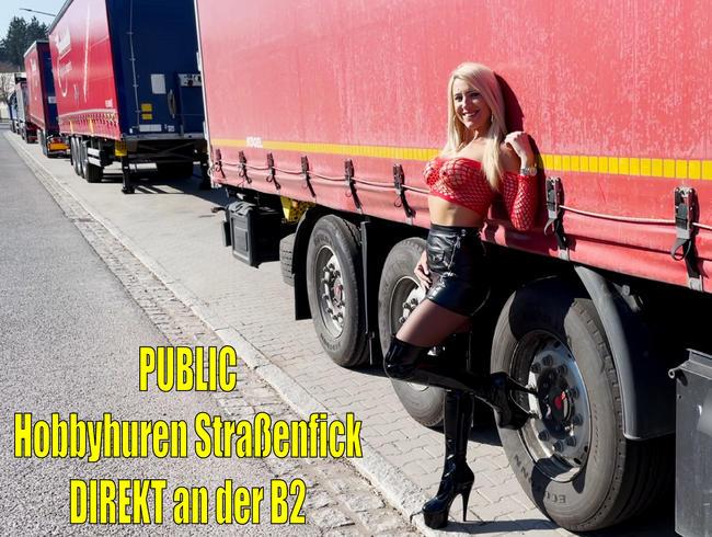 100% realer Public Hobbyhuren AO Straßenfick DIREKT an der B2! Kommst Du auch vorbei?