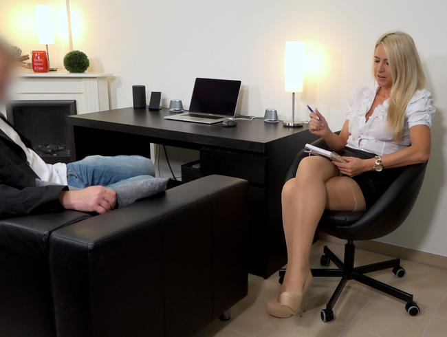 Die Sex-Therapeutin   Diese Behandlungsmethode wird er nie vergessen...!