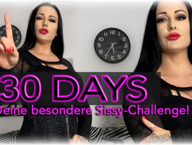 30 DAYS! Deine besondere Sissy-Challenge!