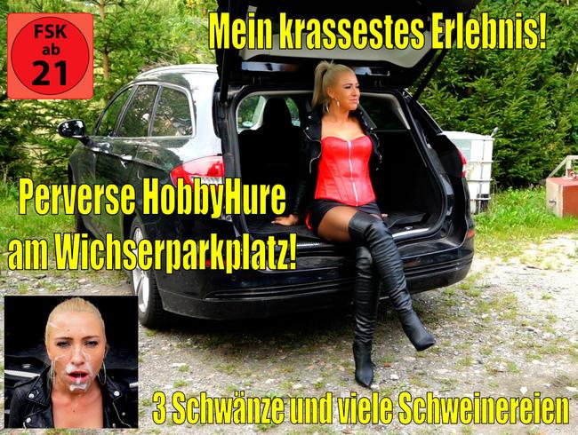 Mein krassestes Fickorgien Erlebnis am Wichserparkplatz! 3 Schwänze + perverse Schweinereien...