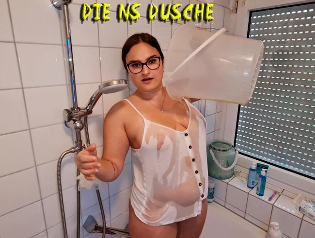 Die NS Dusche – Golden shower