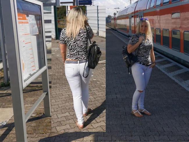 Fickgeile Bahnhofsschlampe von Gleis 2