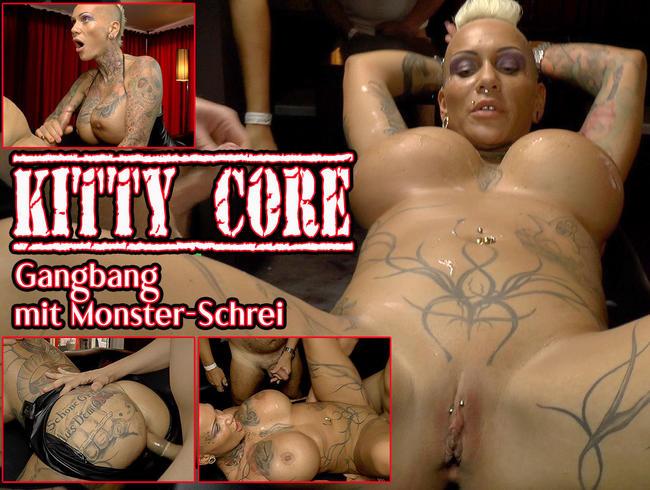 Kitty Core Gangbnag mit Monster Schrei
